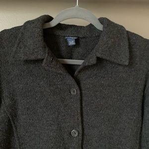 J. Crew Sweaters - J. Crew Gray Wool Cardigan